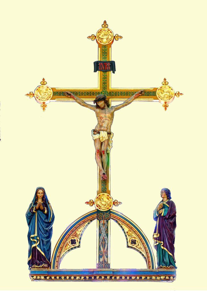 St Marie's cross