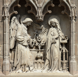 Angels at St Marie's Cathedral