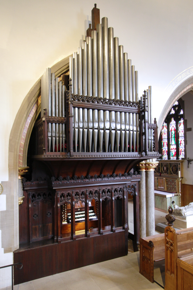 Organ as St Marie