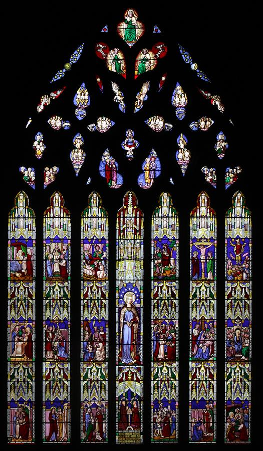 St Marie's Cathedral East Window