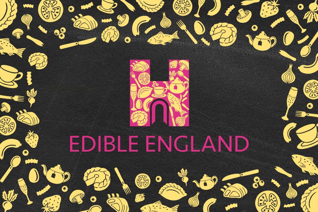 Edible England poster